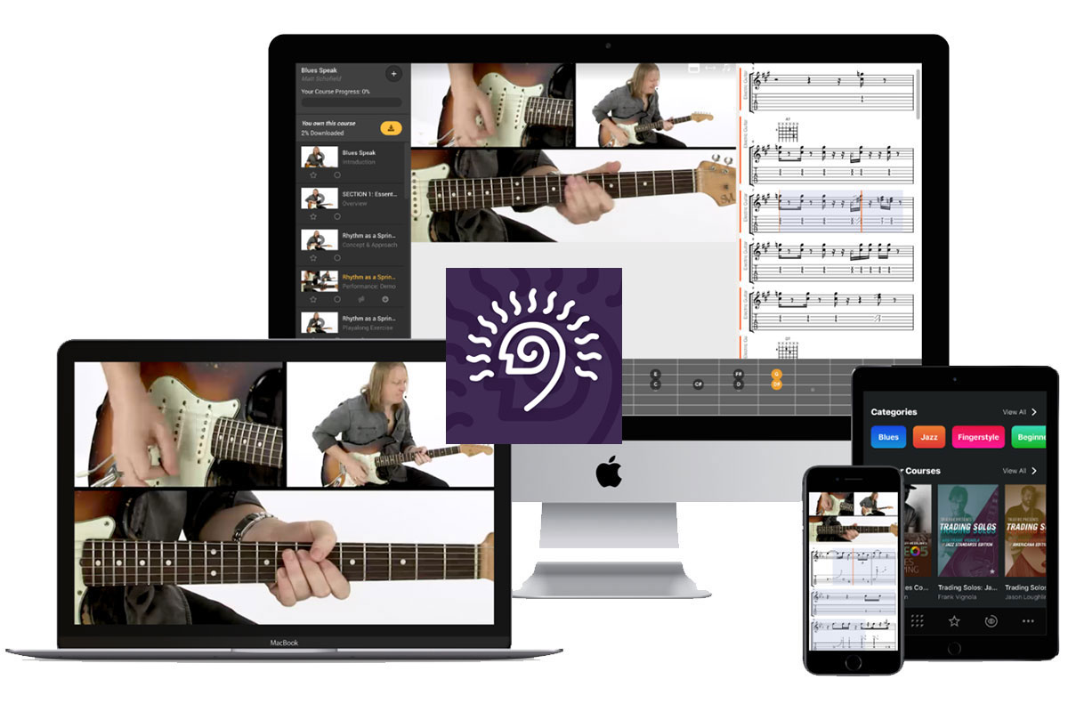 TrueFire Guitar Lessons Apps