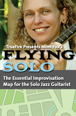 The Essential Improvisation Map for the Solo Jazz Guitarist