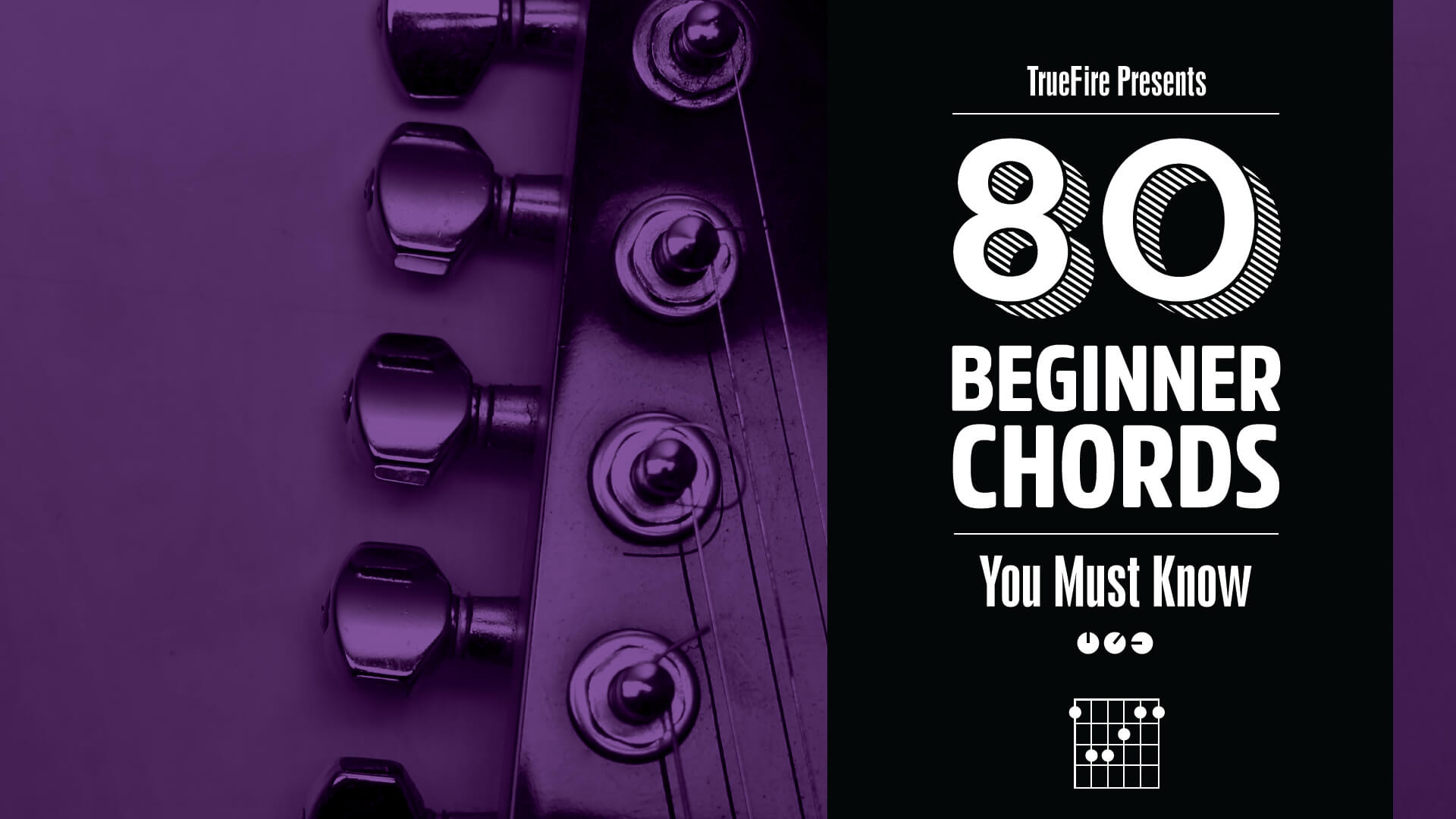 80 Guitar Chords You Must Know Lessons Truefire Learn How To Read Chord Diagrams Are Graphics That Tell