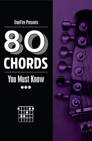 80 Guitar Chords You MUST Know