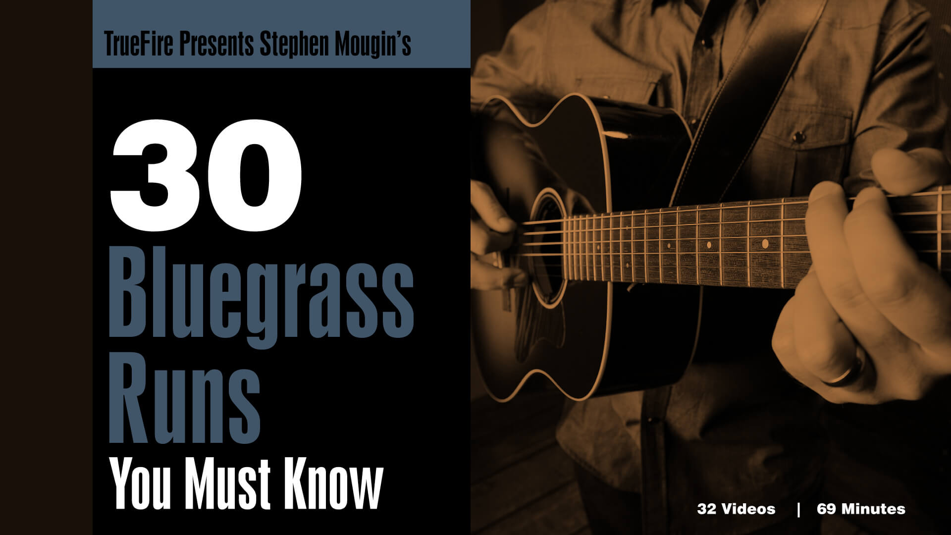 30 Bluegrass Runs You Must Know Stephen Mougin Guitar Lessons