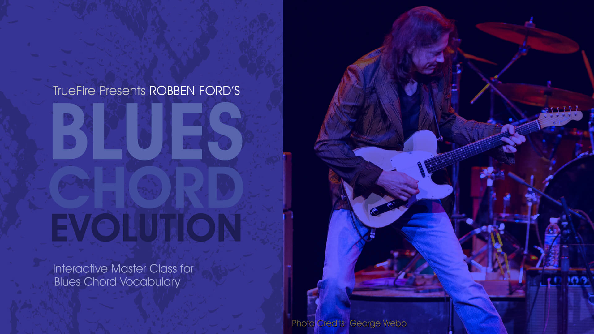 Blues Chord Evolution Guitar Lessons Robben Ford Truefire