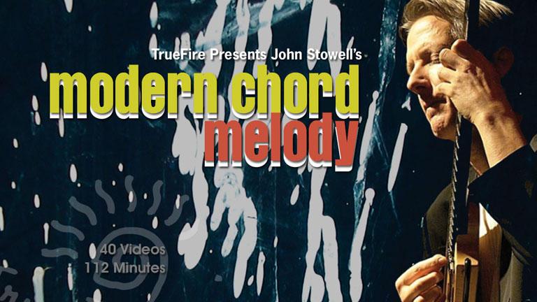 Jazz Guitar Lessons Modern Chord Melody John Stowell