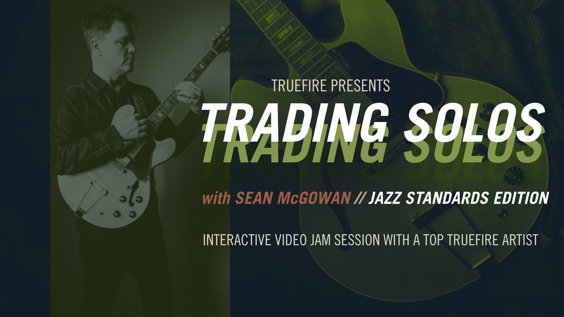 Trading Solos: Jazz Standards Vol  2 - Sean McGowan - Guitar Lessons