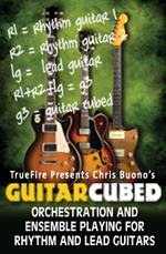 Orchestration & arranging for rhythm and lead guitar