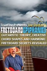 Guitaristic Theory, Creative Chord Shapes and Harmonic Fretboard Secrets Revealed