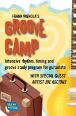 Intensive rhythm, timing and groove study program.