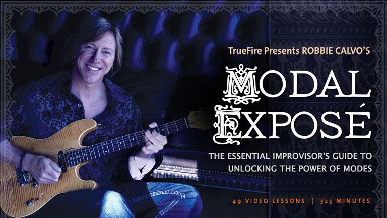 Modal Expose - Robbie Calvo - Guitar Lessons