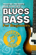 Learn how to play blues bass guitar from the ground up