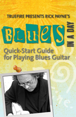 Quick-start guide for playing blues guitar