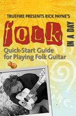 Quick-start guide for playing folk guitar