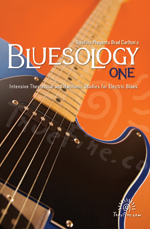 An intensive examination of electric blues guitar theory and harmony