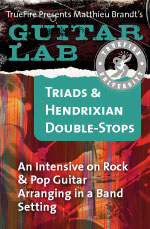 An intensive on rock & pop guitar arranging in a band setting