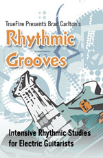 Intensive rhythmic studies for electric guitarists