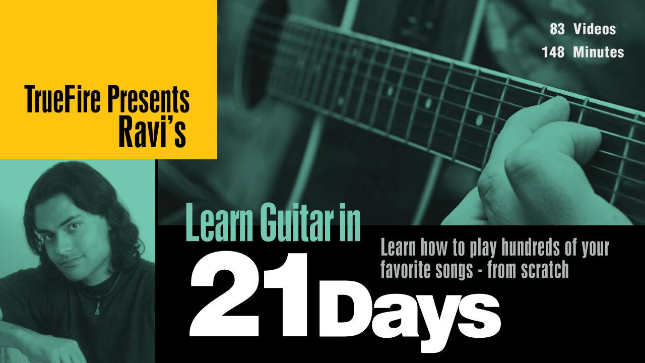 Learn Guitar In 21 Days - Ravi