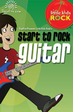 Kids can learn how to rock on guitar too!