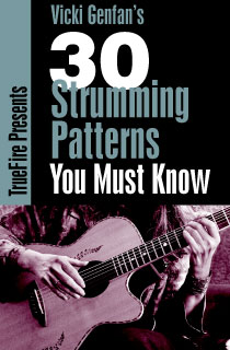 how to know strumming pattern of a song