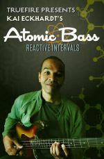 Intensive examination of intervals for the improvising bass player