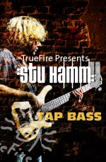 Learn how to play tap bass guitar from the master, Stu Hamm