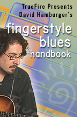 Step-by-step fingerstyle blues guitar method