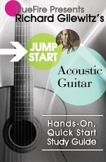 A quick, easy, fun and interactive approach for learning how to play guitar