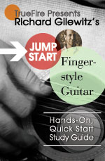 A quick, easy, fun and interactive approach for learning how to play fingerstyle guitar
