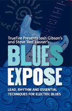 Lead, rhythm and essential techniques for electric blues guitar