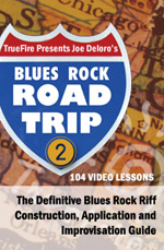 The definitive blues rock riff construction application and improvisation guide