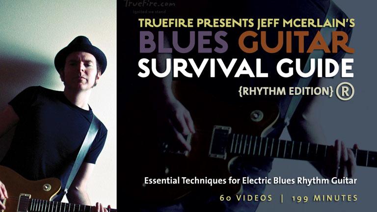 how to play rhythm guitar blues beginner