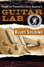 Soloing and improvisation over 23 distinct blues progressions