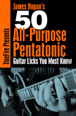 Cherry-picked collection of pentatonic licks within five scale shapes.