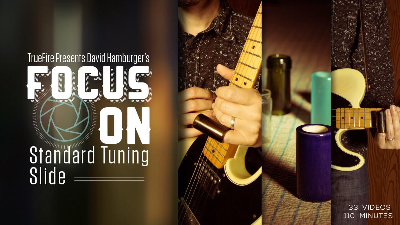 Focus On Standard Tuning Slide Guitar Lesson David Hamburger String Diagram