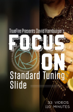 A fast-track learning program for standard tuning slide guitar