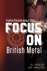 A fast-track learning program for British metal guitar.