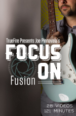 Requisite skills, techniques and harmonic knowledge for fusion guitar
