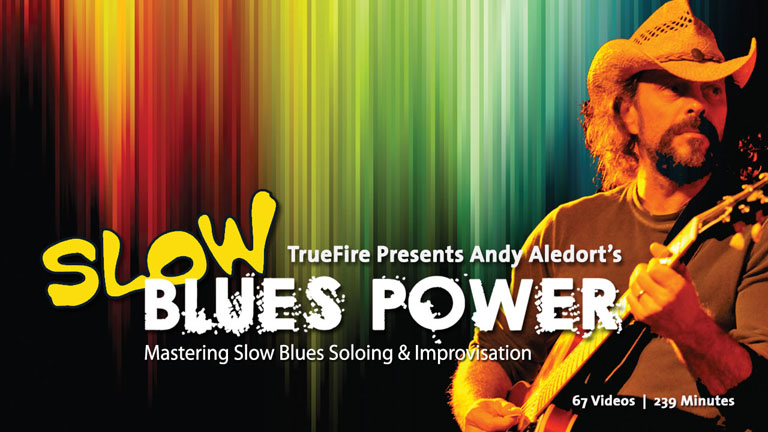 Slow Blues Power: Introduction - Andy Aledort - Guitar Lesson