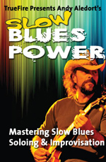 Soloing styles, forms & techniques for slow blues guitar