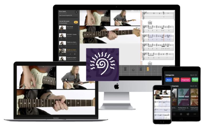 TrueFire Guitar Lessons App